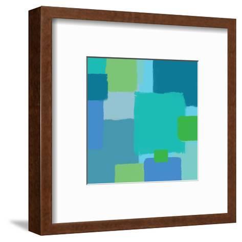 Coloratura IX-Yashna-Framed Art Print