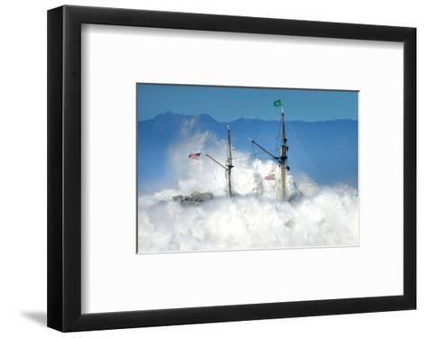 Oceans Fury-Steve Munch-Framed Art Print