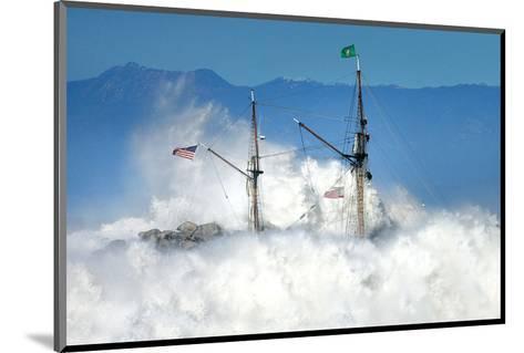 Oceans Fury-Steve Munch-Mounted Art Print