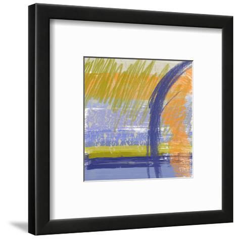 Symphony in Purple I-Yashna-Framed Art Print