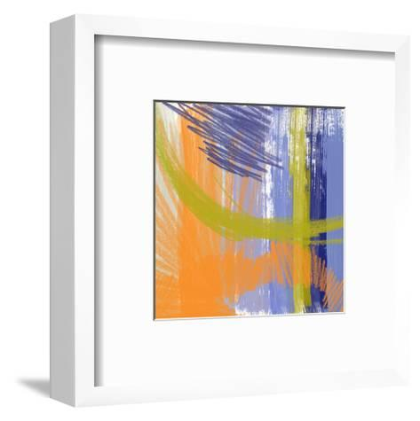 Symphony in Purple III-Yashna-Framed Art Print