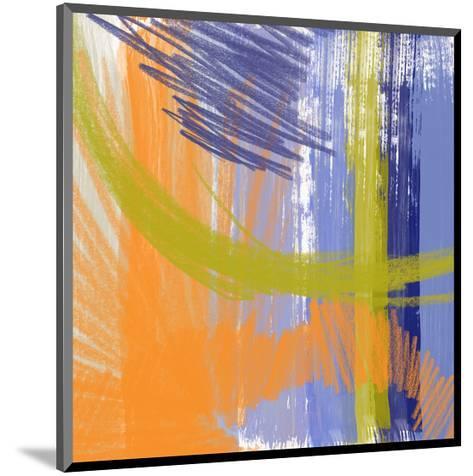 Symphony in Purple III-Yashna-Mounted Art Print