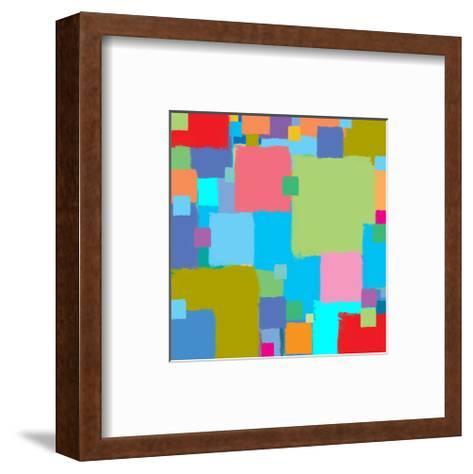 Coloratura I-Yashna-Framed Art Print
