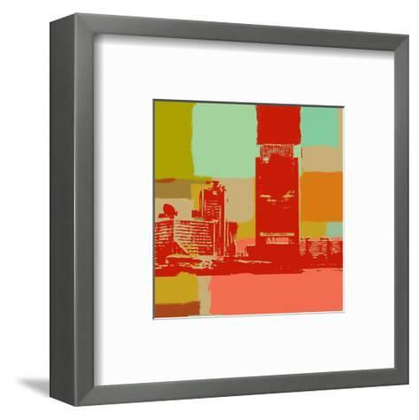 The Skyline-Yashna-Framed Art Print