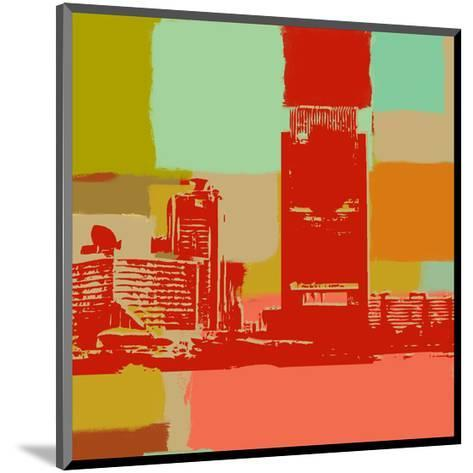 The Skyline-Yashna-Mounted Art Print