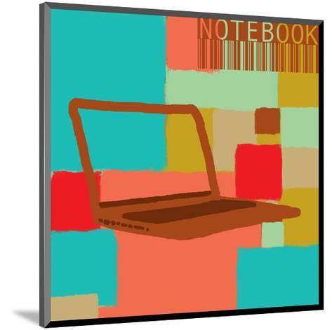 Notebook II-Yashna-Mounted Art Print
