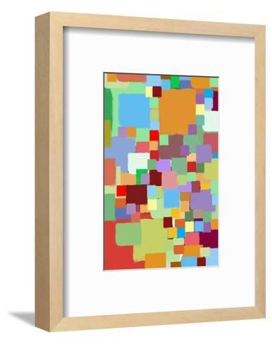 Coloratura XII-Yashna-Framed Art Print