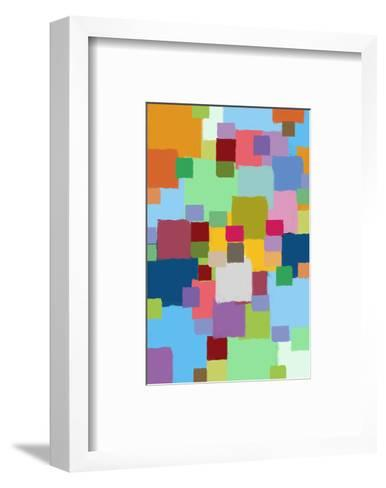 Coloratura XIII-Yashna-Framed Art Print