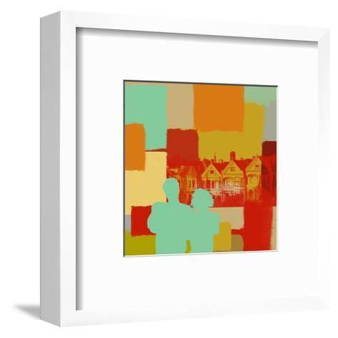 People-Yashna-Framed Art Print