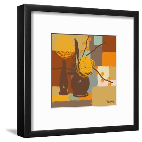 Seasons II-Yashna-Framed Art Print