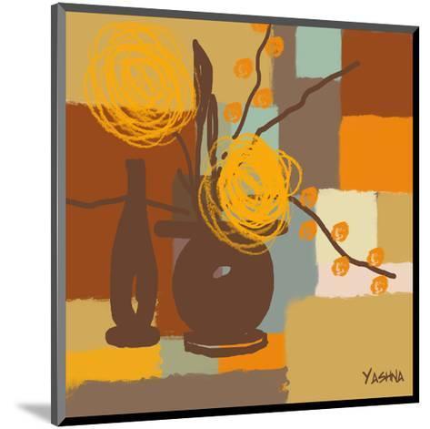 Seasons II-Yashna-Mounted Art Print