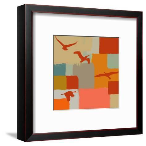 Birds I-Yashna-Framed Art Print