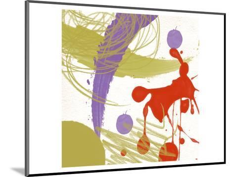 Organized Chaos I-Yashna-Mounted Art Print