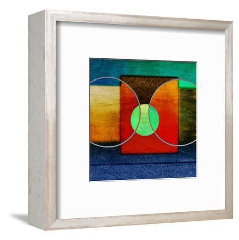 Abstract Intersect Ia-Catherine Kohnke-Framed Art Print