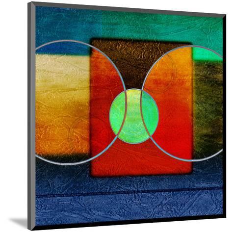 Abstract Intersect Ia-Catherine Kohnke-Mounted Art Print