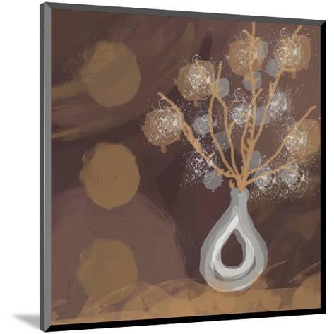 Silver Vase I-Irena Orlov-Mounted Art Print