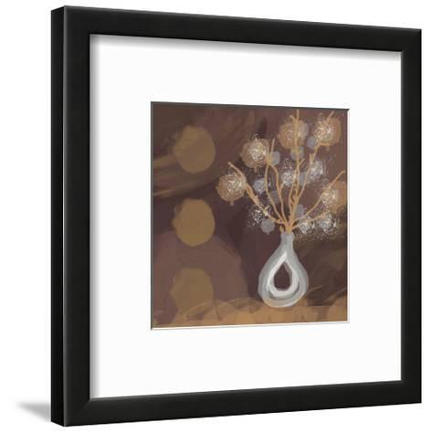 Silver Vase I-Irena Orlov-Framed Art Print