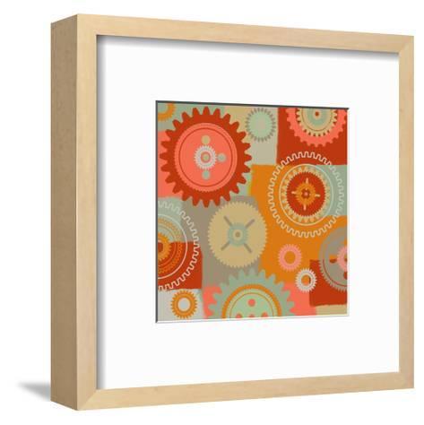 Ornament-Yashna-Framed Art Print