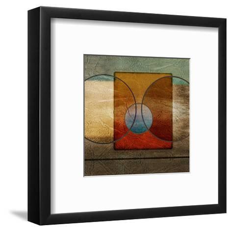 Abstract Intersect Ib-Catherine Kohnke-Framed Art Print