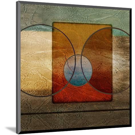 Abstract Intersect Ib-Catherine Kohnke-Mounted Art Print