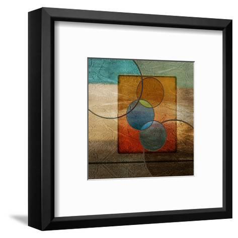 Abstract intersect Iib-Catherine Kohnke-Framed Art Print