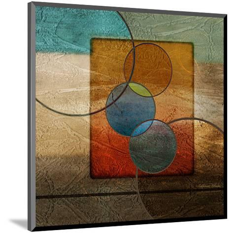Abstract intersect Iib-Catherine Kohnke-Mounted Art Print