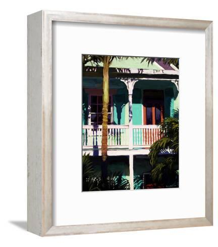 Conch Cottage 1-Kurt Novak-Framed Art Print