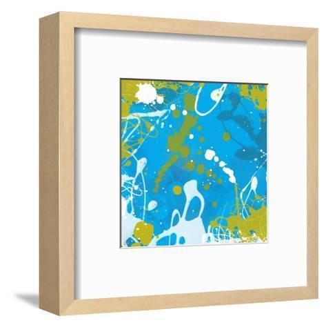 Aqua II-Irena Orlov-Framed Art Print