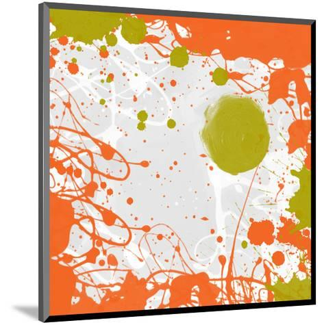 Green Orange Garden I-Irena Orlov-Mounted Art Print