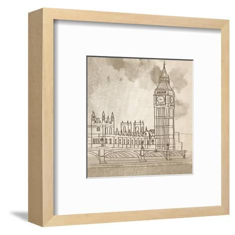 Big Ben-Irena Orlov-Framed Art Print