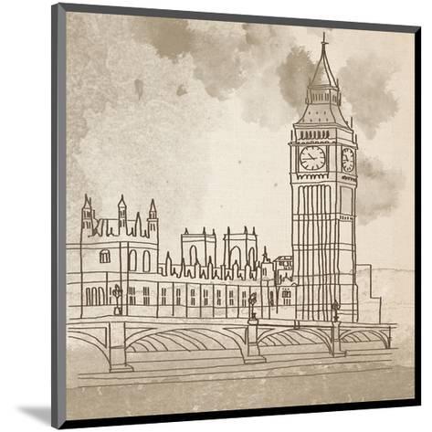 Big Ben-Irena Orlov-Mounted Art Print
