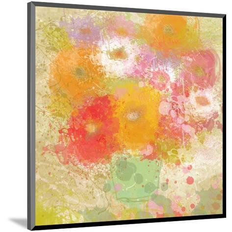 Bunch of Flowers-Irena Orlov-Mounted Art Print