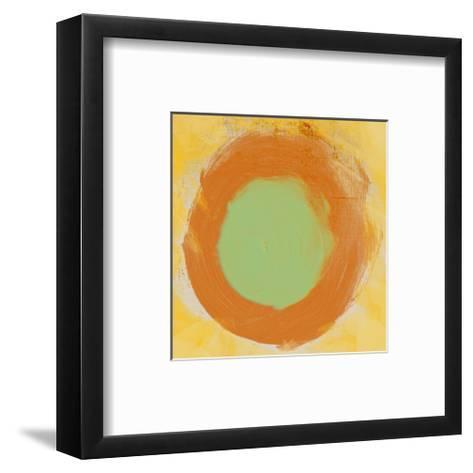 Abstract Brush I-Irena Orlov-Framed Art Print