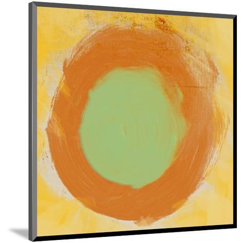 Abstract Brush I-Irena Orlov-Mounted Art Print
