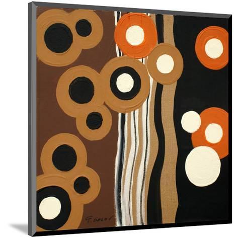 Magnetism I-Irena Orlov-Mounted Art Print