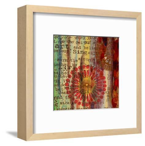 Solar II-Irena Orlov-Framed Art Print