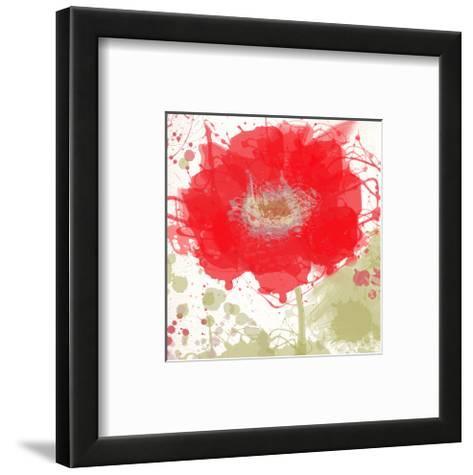Modern Red-Irena Orlov-Framed Art Print