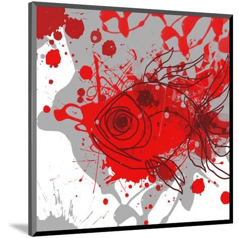 Grey-Red Fish-Irena Orlov-Mounted Art Print