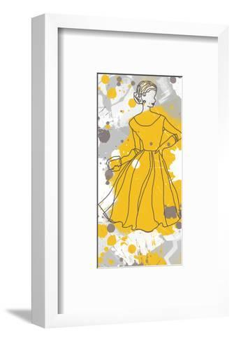Women in Yellow Dress-Irena Orlov-Framed Art Print