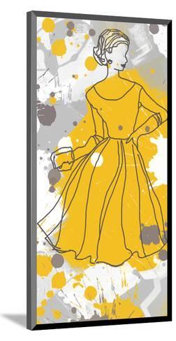 Women in Yellow Dress-Irena Orlov-Mounted Art Print
