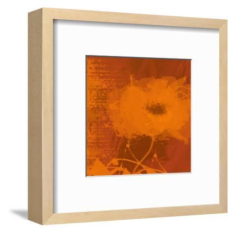 Orange Dream-Irena Orlov-Framed Art Print