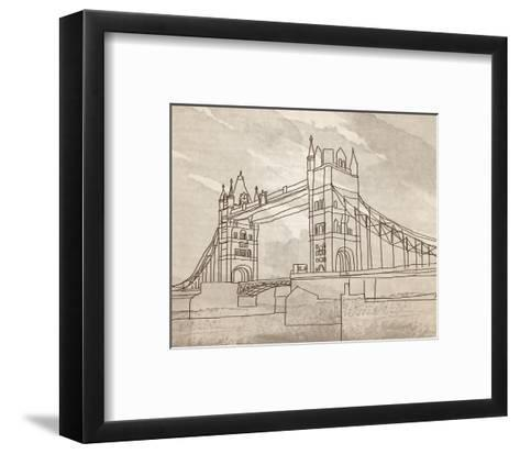 Tower Bridge, London-Irena Orlov-Framed Art Print