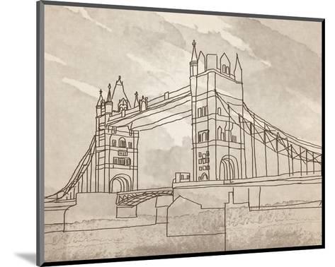 Tower Bridge, London-Irena Orlov-Mounted Art Print