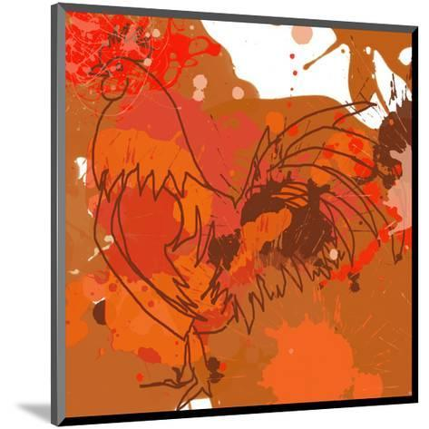 Red Rooster-Irena Orlov-Mounted Art Print