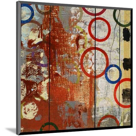 Rainbow Circles V-Yashna-Mounted Art Print