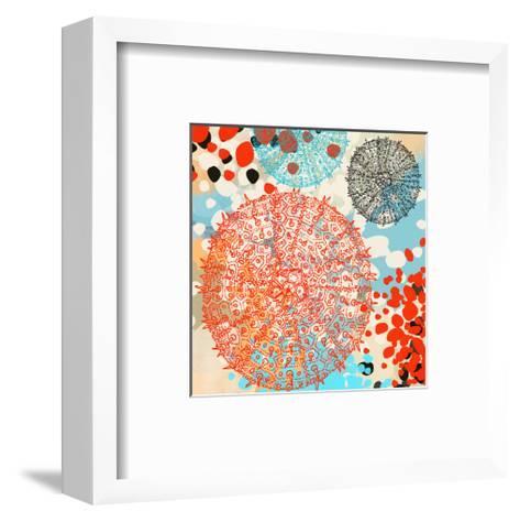 Exotic sea life IV-Yashna-Framed Art Print