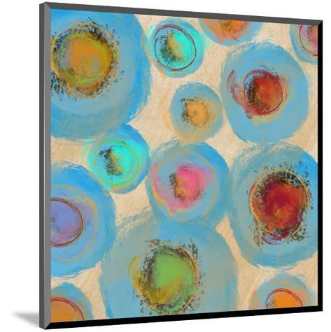 Abstract Spring Flower-Yashna-Mounted Art Print