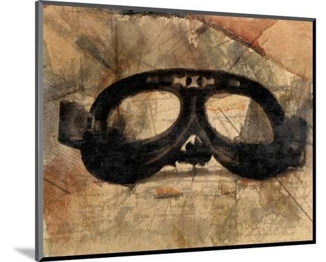Vintage Motorcycle Glasses-Irena Orlov-Mounted Art Print