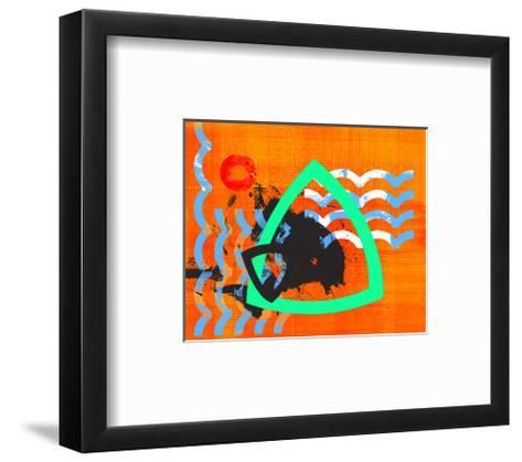 Dance of the Water Elements IV-Jet-Framed Art Print