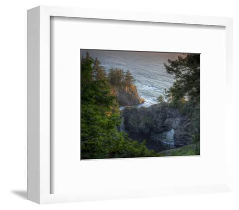 Natural Bridges Brookings, Oregon I-Michael Polk-Framed Art Print